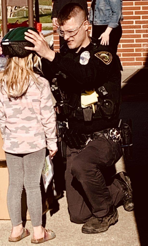News Family Night Officer Helmet